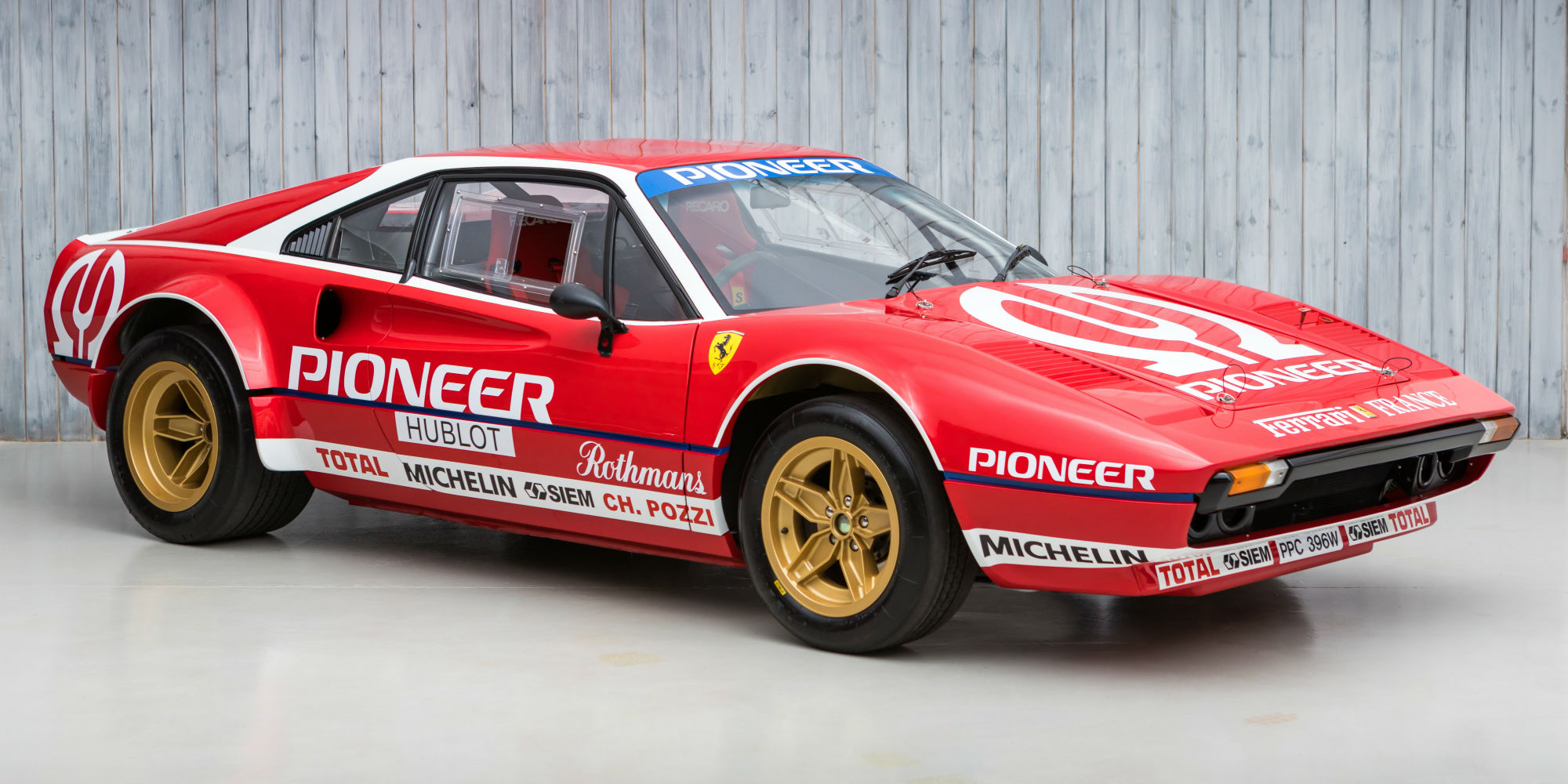 1981 Ferrari 308 GTB to FIA Group 4 Specification