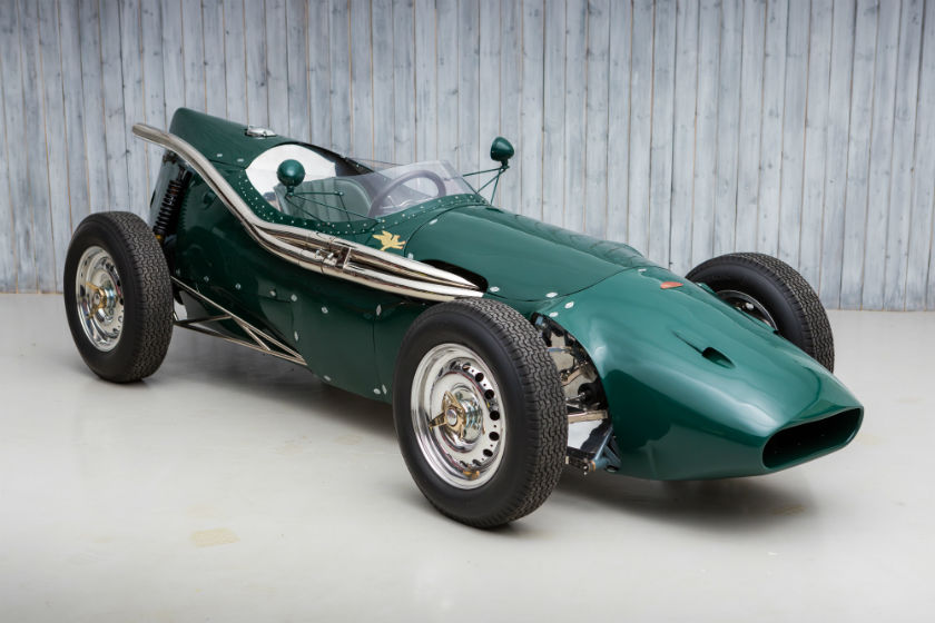 The Ex-Monaco Historic Winning, U.S. Grand Prix 1957 Connaught C-Type Formula 1 For Sale at William I'Anson Ltd