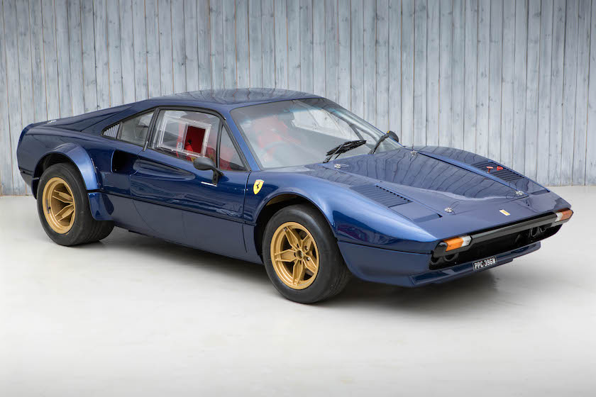 1981 Ferrari 308 GTB to FIA Group 4 Specification For Sale at William I'Anson Ltd