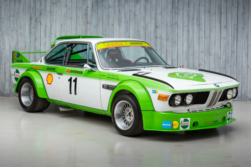 The Ex - Martini, Multiple Nurburgring Winner 1978 BMW 3.0 CSL 'Batmobile' Group 2 For Sale at William I'Anson Ltd