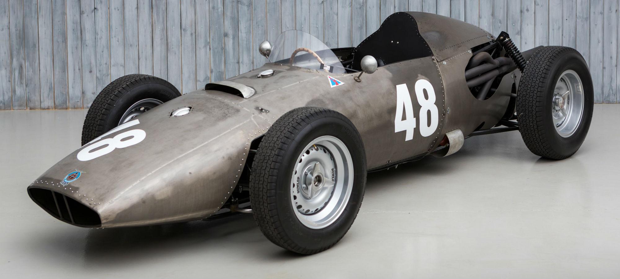 The Ex - Dan Gurney, Only International Race Winning 1960 BRM P48 Formula 1