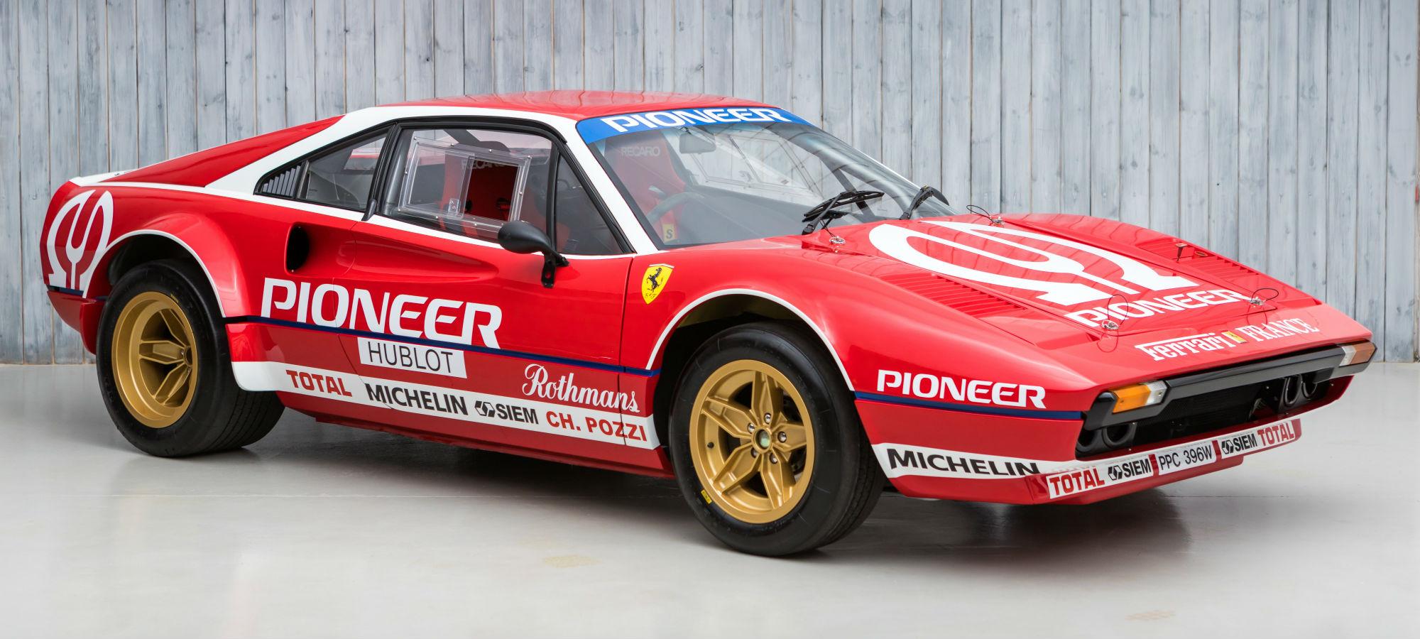 1981 Ferrari 308 GTB to FIA Group 4 Specification