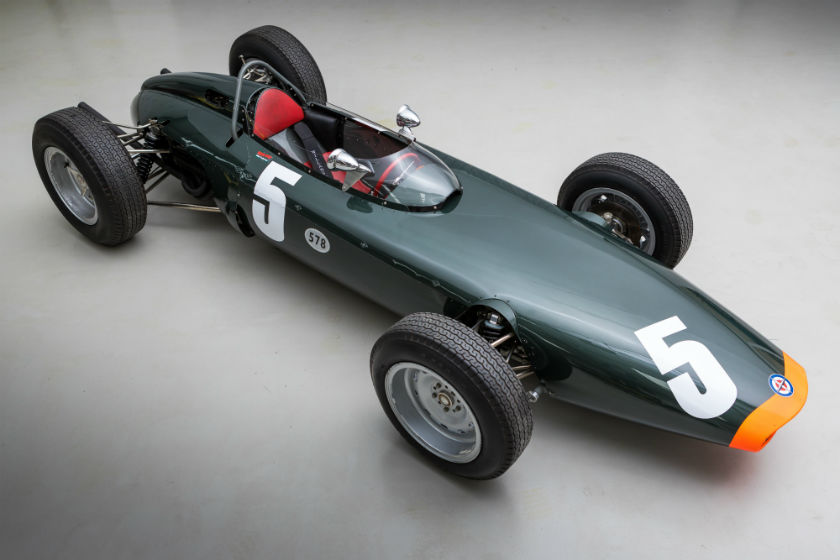 The Ex-Works, Richie Ginther, Scuderia Centro Sud 2nd at Monaco and joint 2nd in the Formula 1 World Championship 1962 BRM P578 For Sale at William I'Anson Ltd