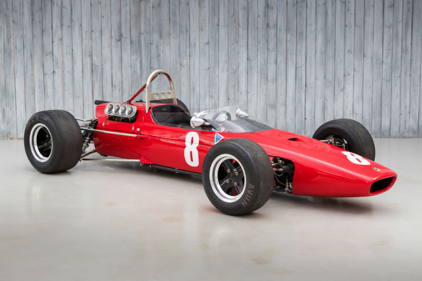 The Ex - Piers Courage, John Coombs 1967 McLaren M4A Formula 2 For Sale at William I'Anson Ltd