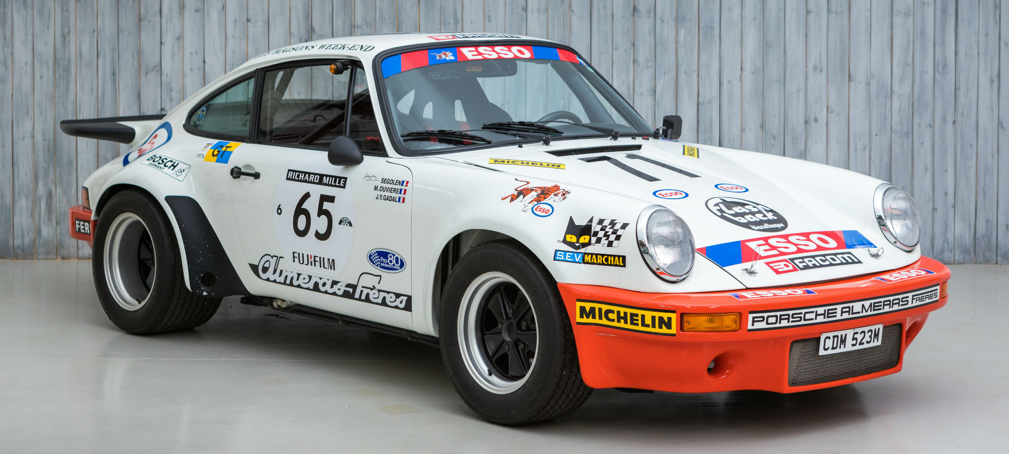 The Le Mans 24 Hours Class Winning 1974 Porsche 911 Carrera 3.0 RS