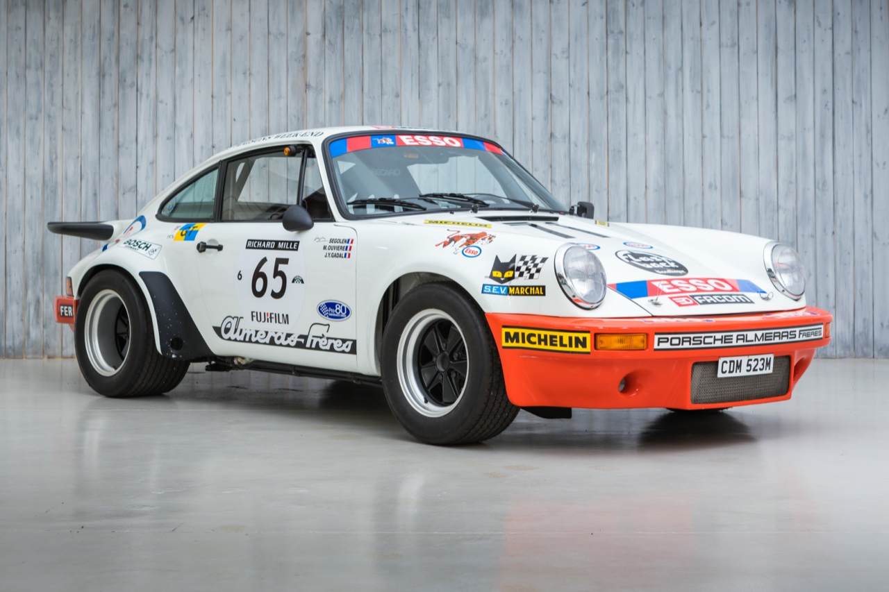The Le Mans Class Winning, Ex - Jean Claude Andruet 1974 Porsche 911 3.0 RS For Sale at William I'Anson Ltd