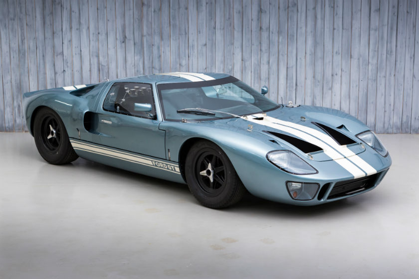 Ford GT40 by Gelscoe FIA HTP For Sale at William I'Anson Ltd