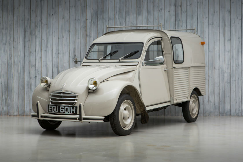 Citroen 2CV Van For Sale at William I'Anson Ltd
