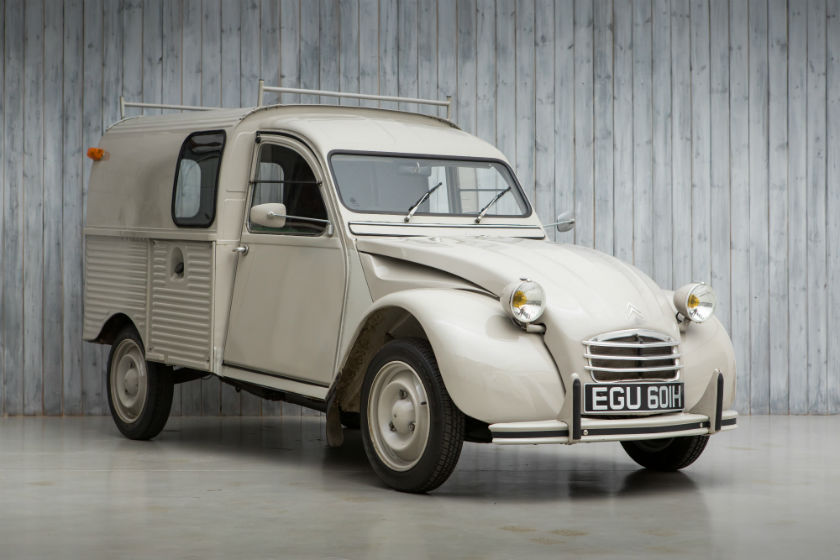Citroen 2CV Van For Sale at William I'Anson Ltd
