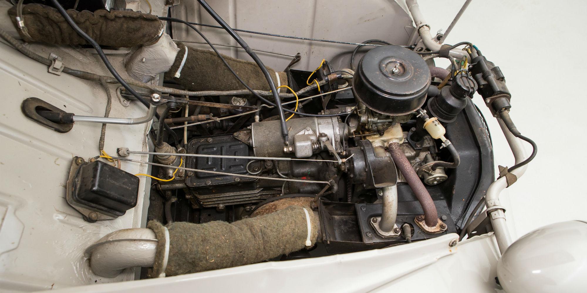 1970 Citroen 2CV Van