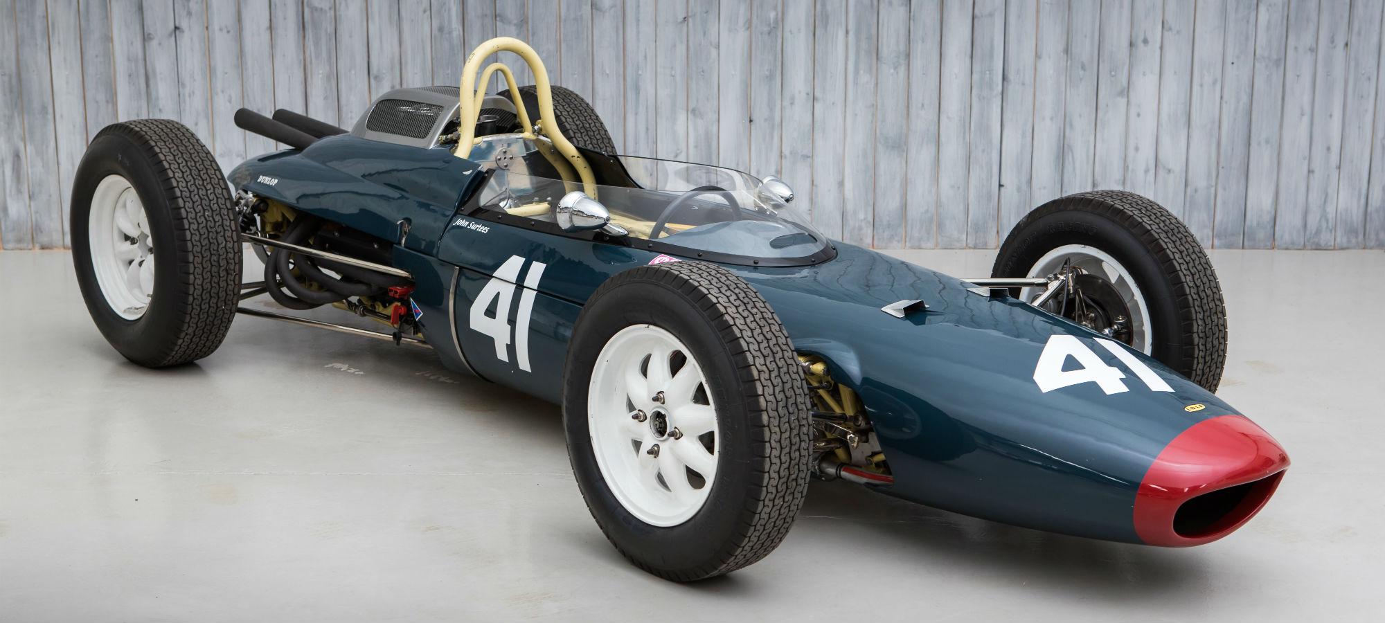 The Ex - John Surtees 1962 Lola Mk4 Formula 1