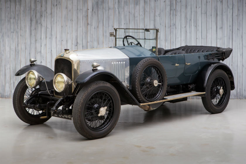 1924 Vauxhall 30-98 Velox Tourer For Sale at William I'Anson Ltd