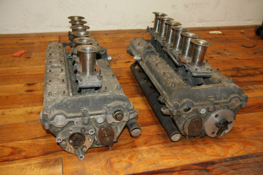 BRM P101 V12 Cylinder Heads For Sale at William I'Anson Ltd