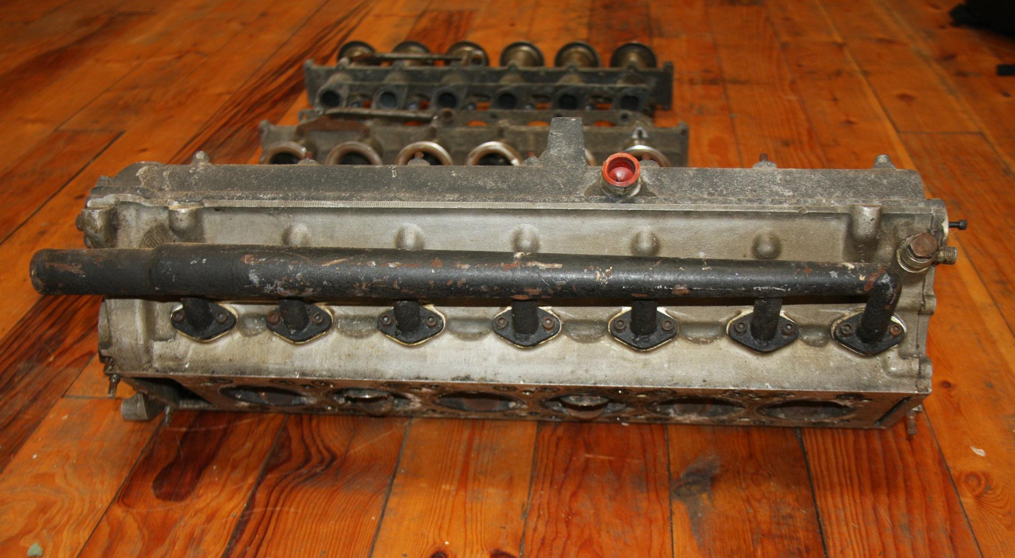 BRM P101 V12 Cylinder Heads