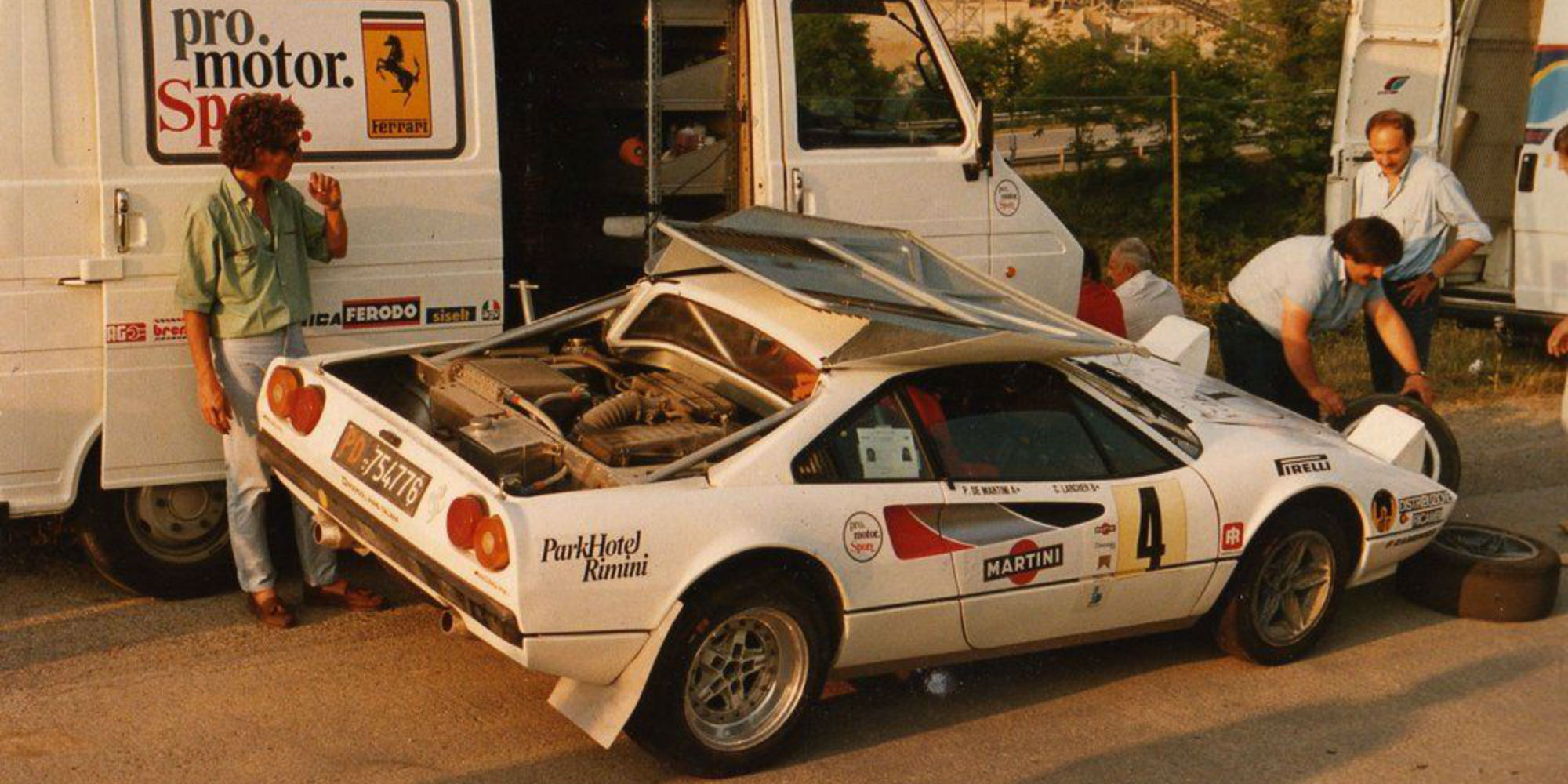 The Ex – World and European Rally Championship 1978 Ferrari 308 GTB ProMotorSport Group B