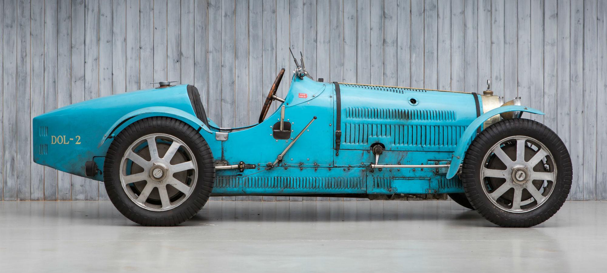 The Ex - Sir Malcolm Campbell, Bernard Kain 1926 Bugatti Type 35 to 35B