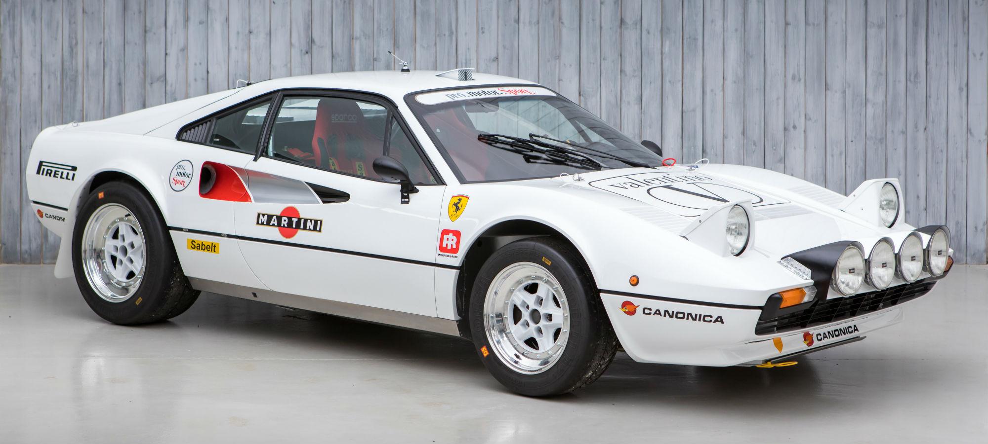 The Ex - World and European Rally Championship 1978 Ferrari 308 GTB Pro Motor Sport Group B