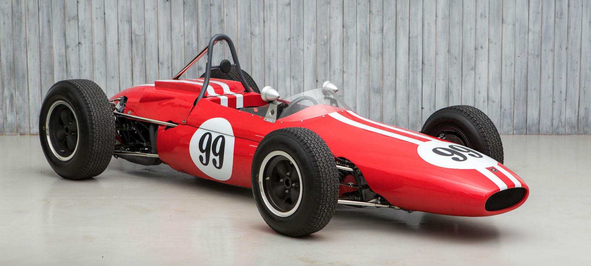 The Ex - Charles Vögele, Swiss Champion 1963 Brabham BT4