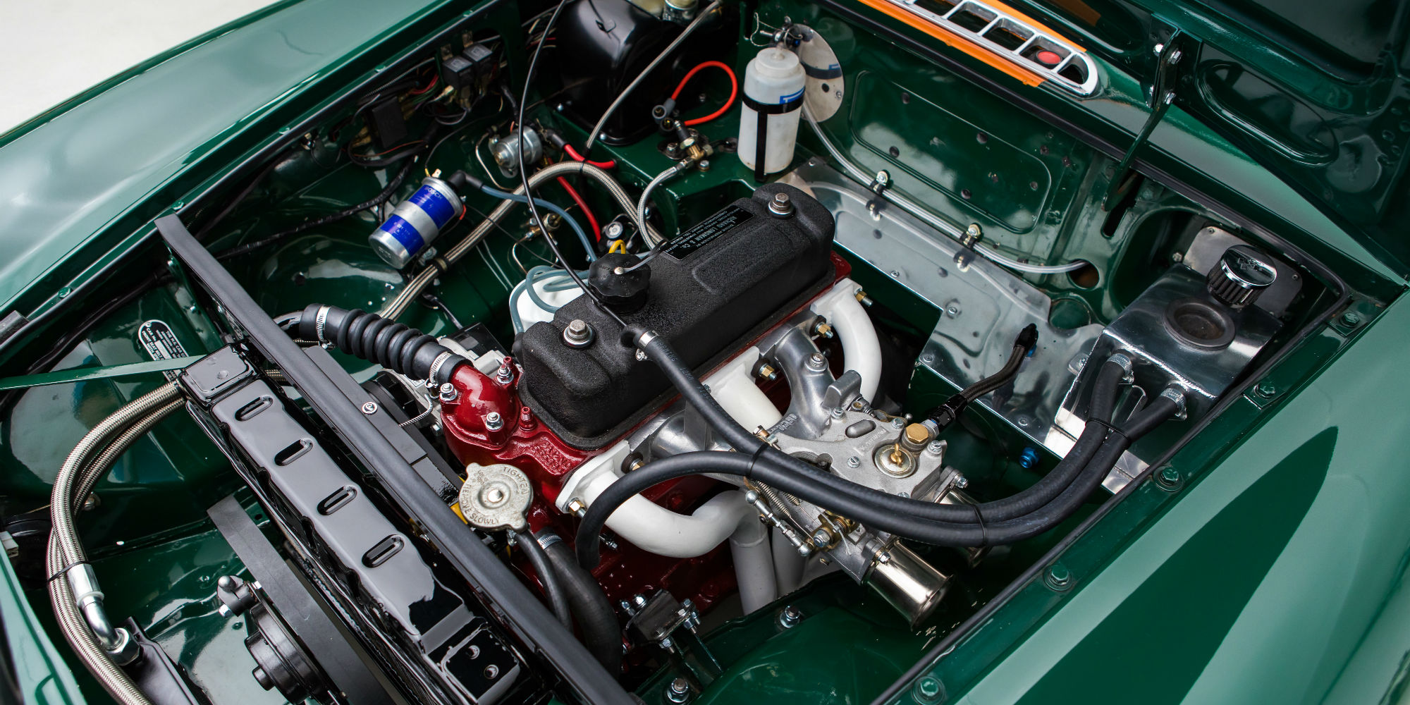 The Ex – Windmill & Lewis 1964 MG B Roadster