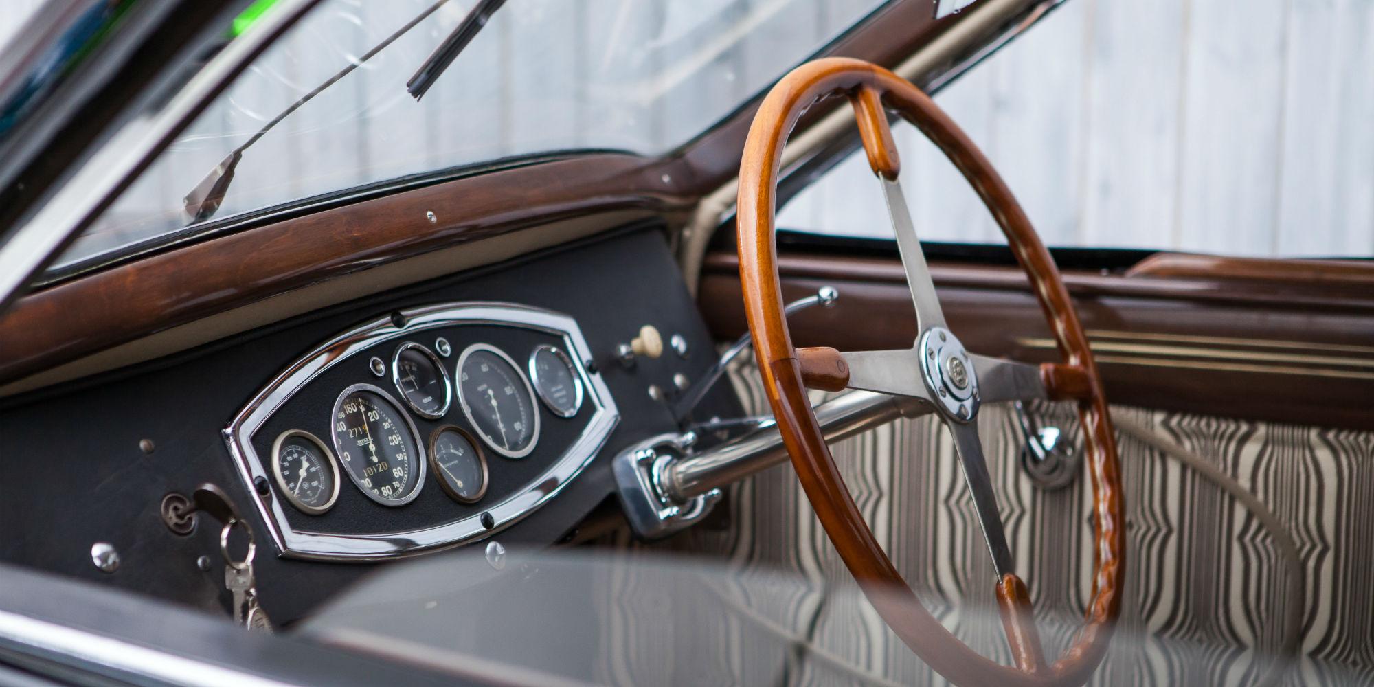 1928 Bugatti Type 44 Profilée Aérodynamique by Gangloff