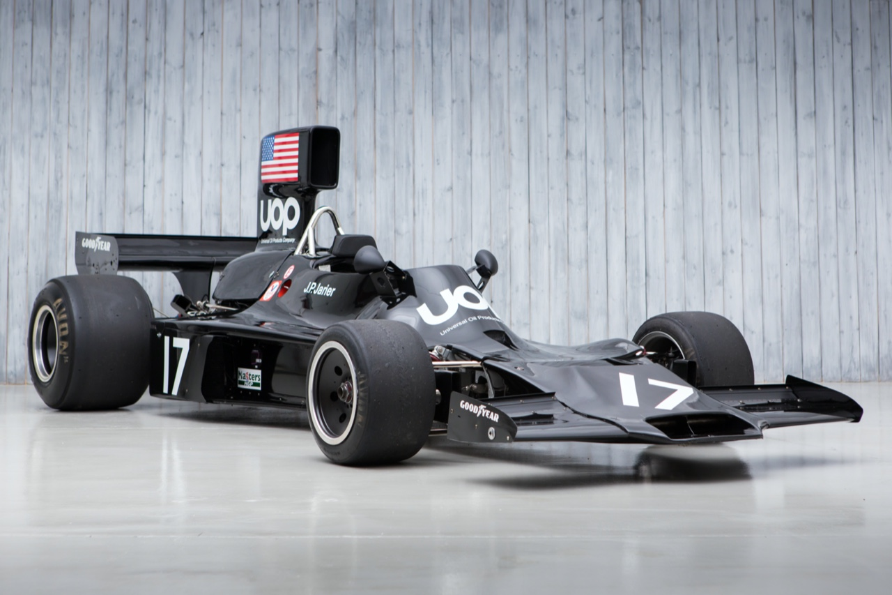 The Ex - J.P. Jarier, 3rd in the Monaco Grand Prix 1974 Shadow DN3 Formula 1 For Sale at William I'Anson Ltd