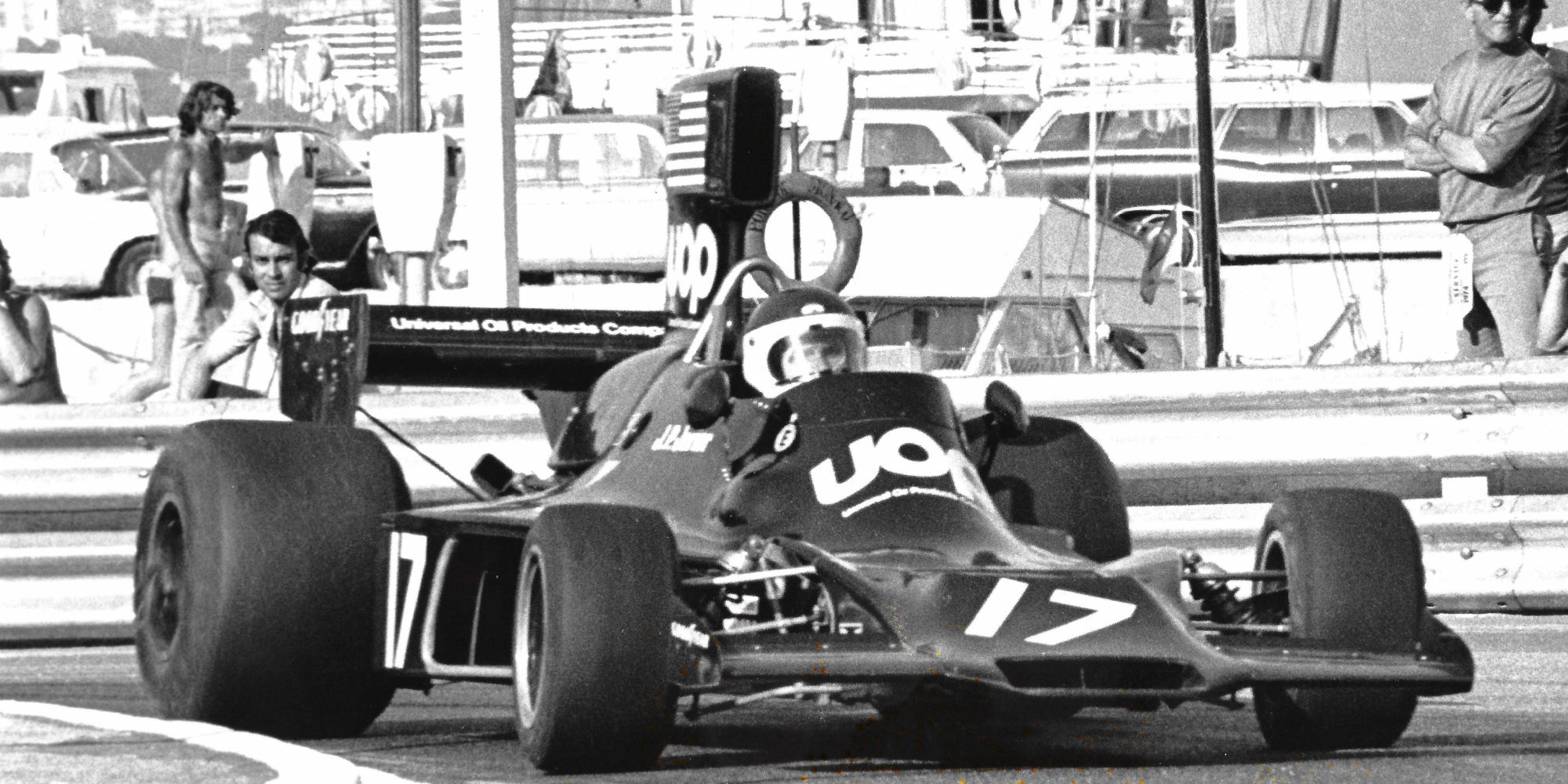 The Ex – J.P. Jarier, 3rd in the 1974 Monaco Grand Prix 1974 Shadow DN3 Formula 1