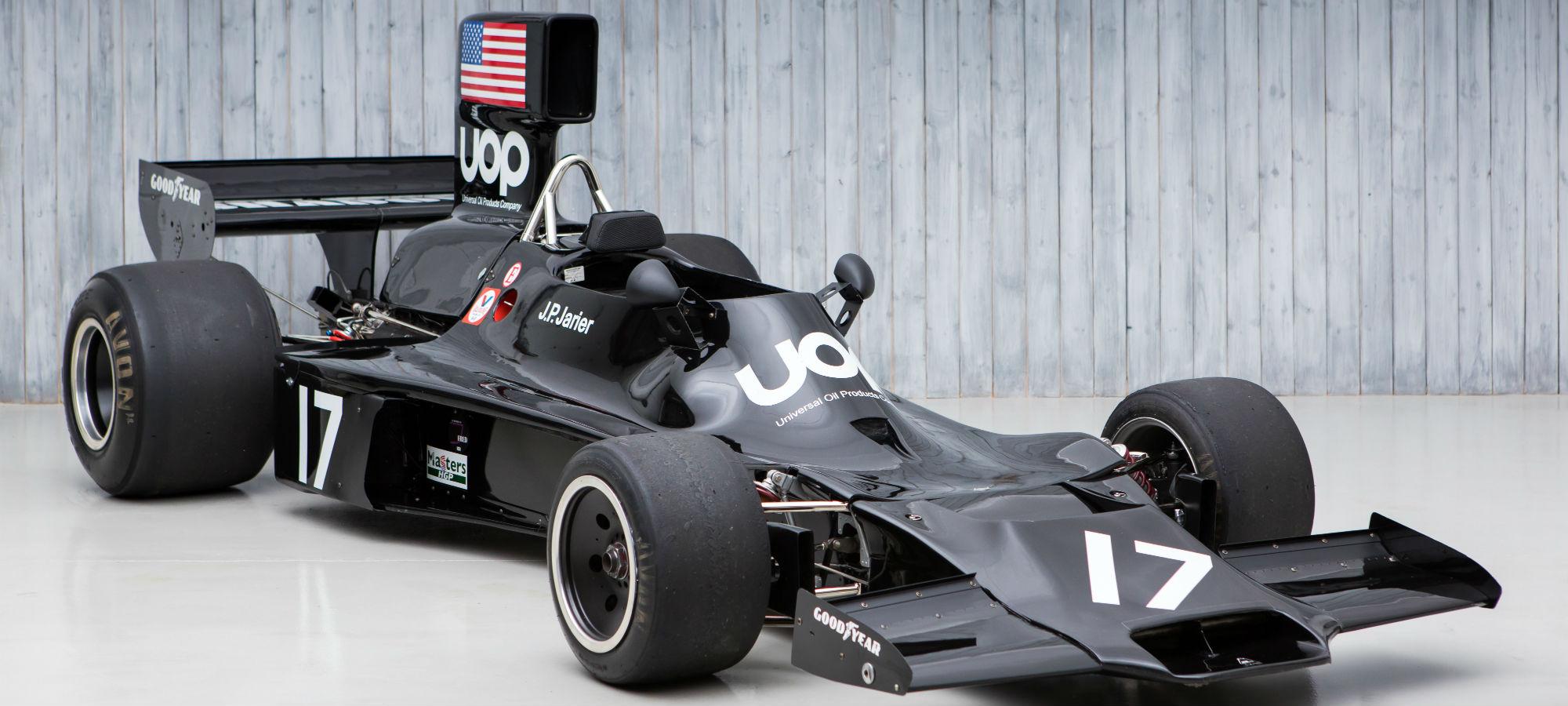 The Ex - J.P. Jarier, 3rd in the 1974 Monaco Grand Prix 1974 Shadow DN3 Formula 1