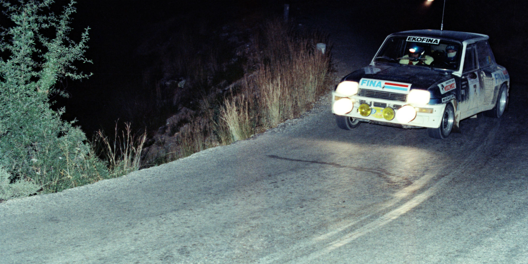 The Ex – Leonidas, 8th in the Acropolis WRC 1981 Renault 5 Turbo Group 4
