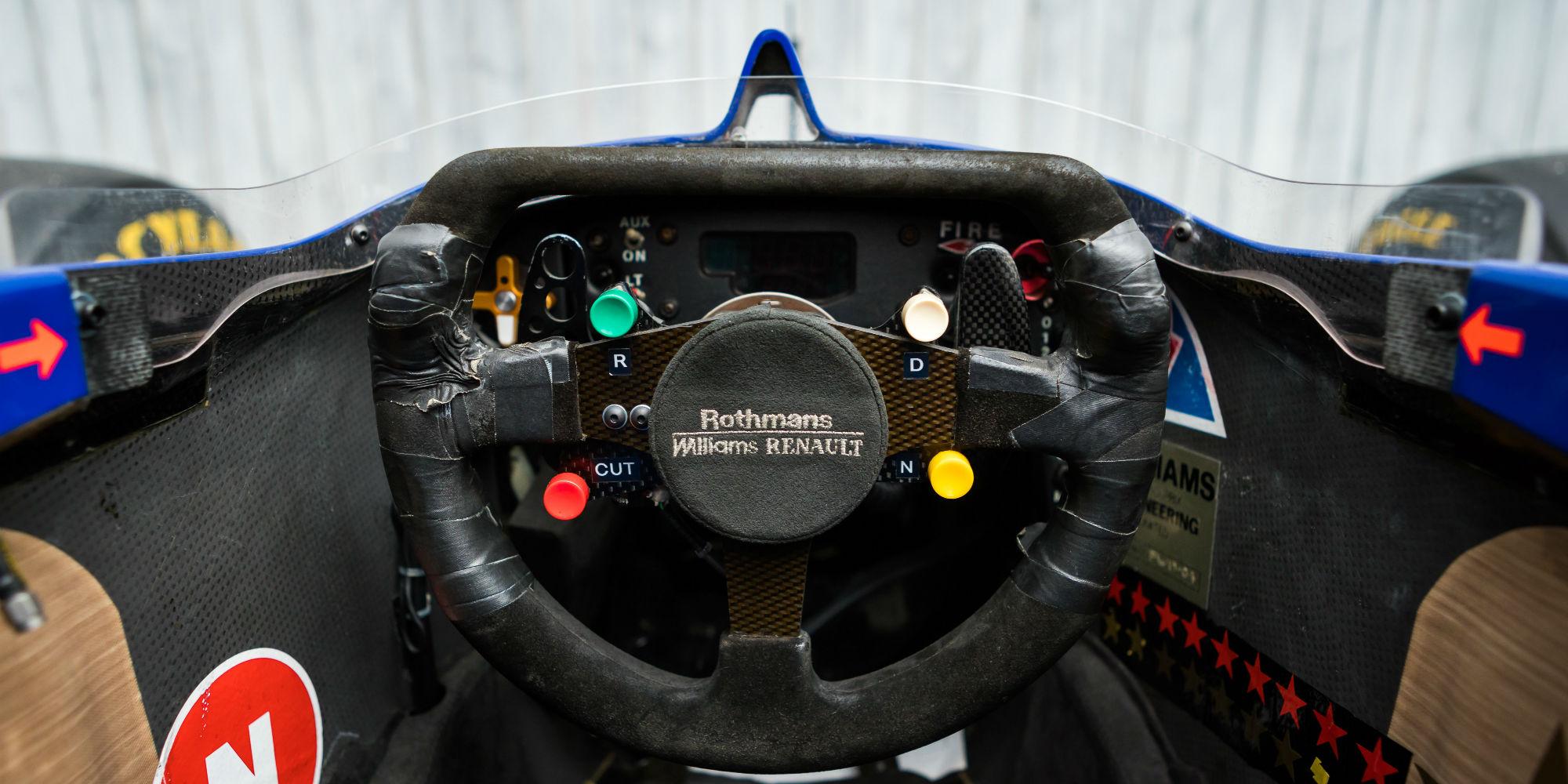The Ex – Heinz-Harald Frentzen, San Marino Grand Prix Winning, 2nd in the Drivers' World Championship 1997 Williams FW19