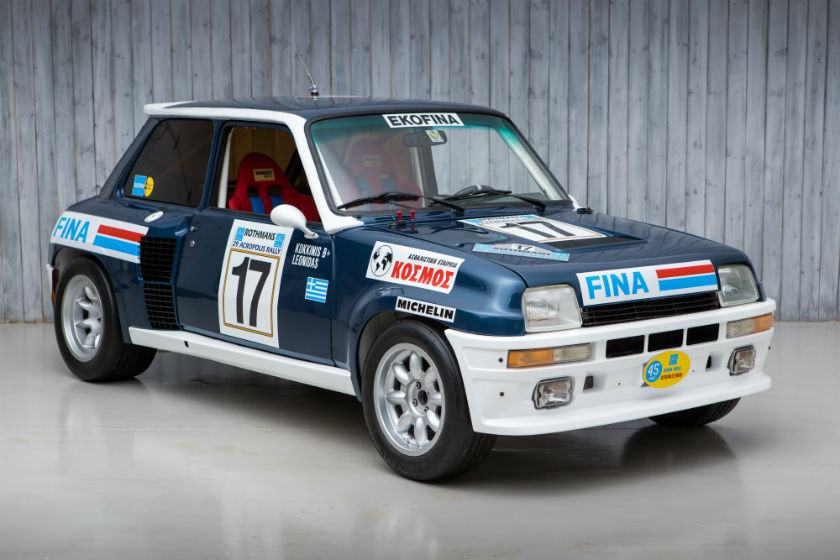 The Ex - Leonidas, 8th in the Acropolis WRC 1981 Renault 5 Turbo Group 4 For Sale at William I'Anson Ltd