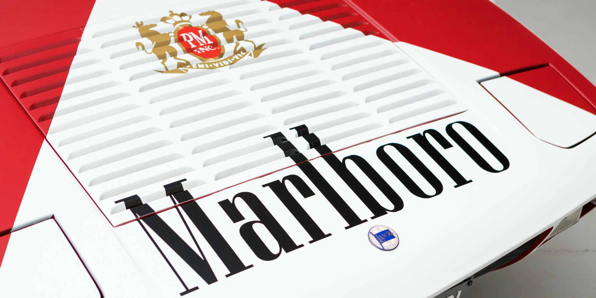 The Ex – Philip Morris, Marlboro Press Car 1974 Lancia Stratos Stradale