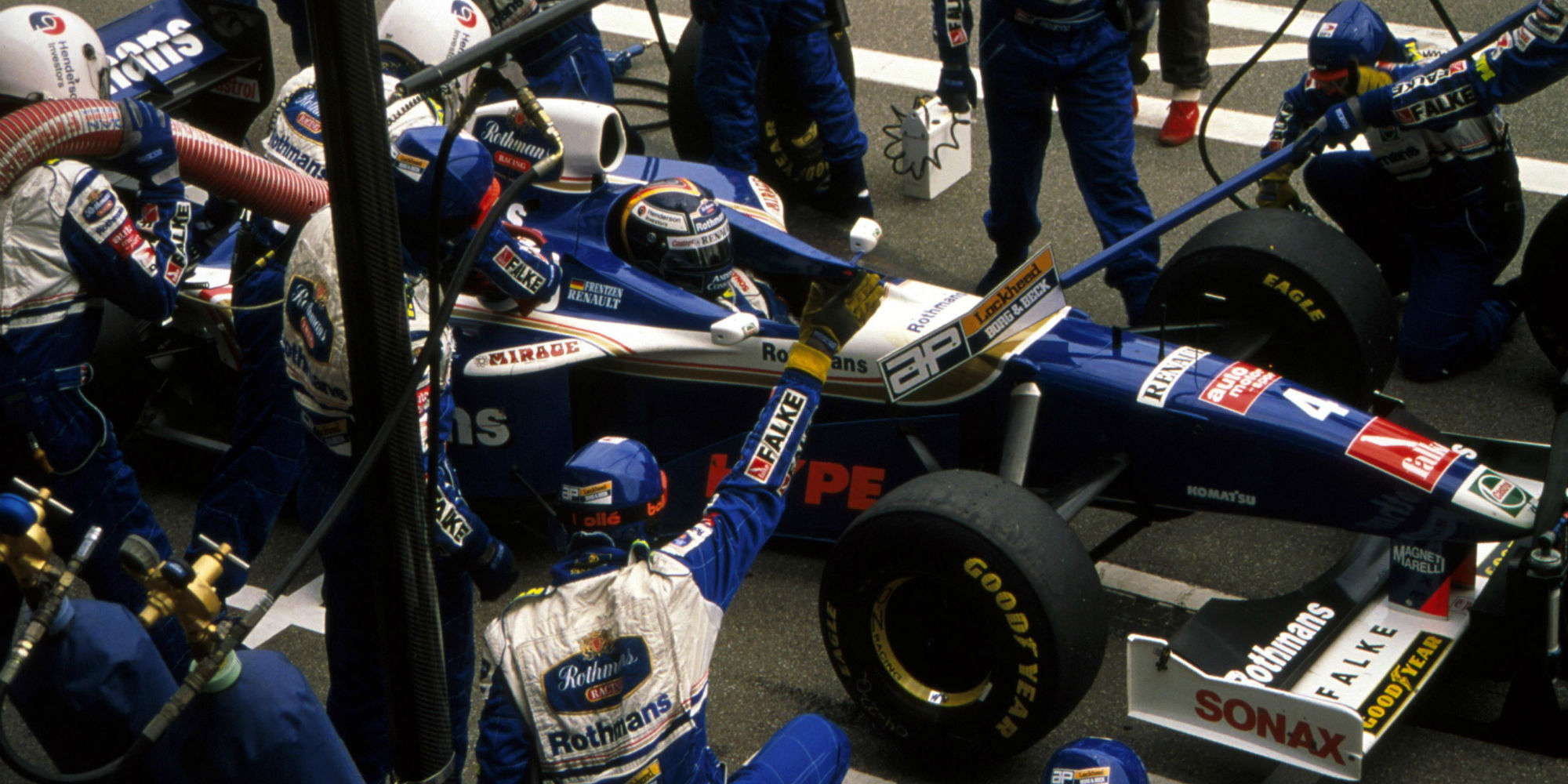The Ex – Heinz-Harald Frentzen, San Marino Grand Prix Winning, 2nd in the Drivers' World Championship 1997 Williams FW19