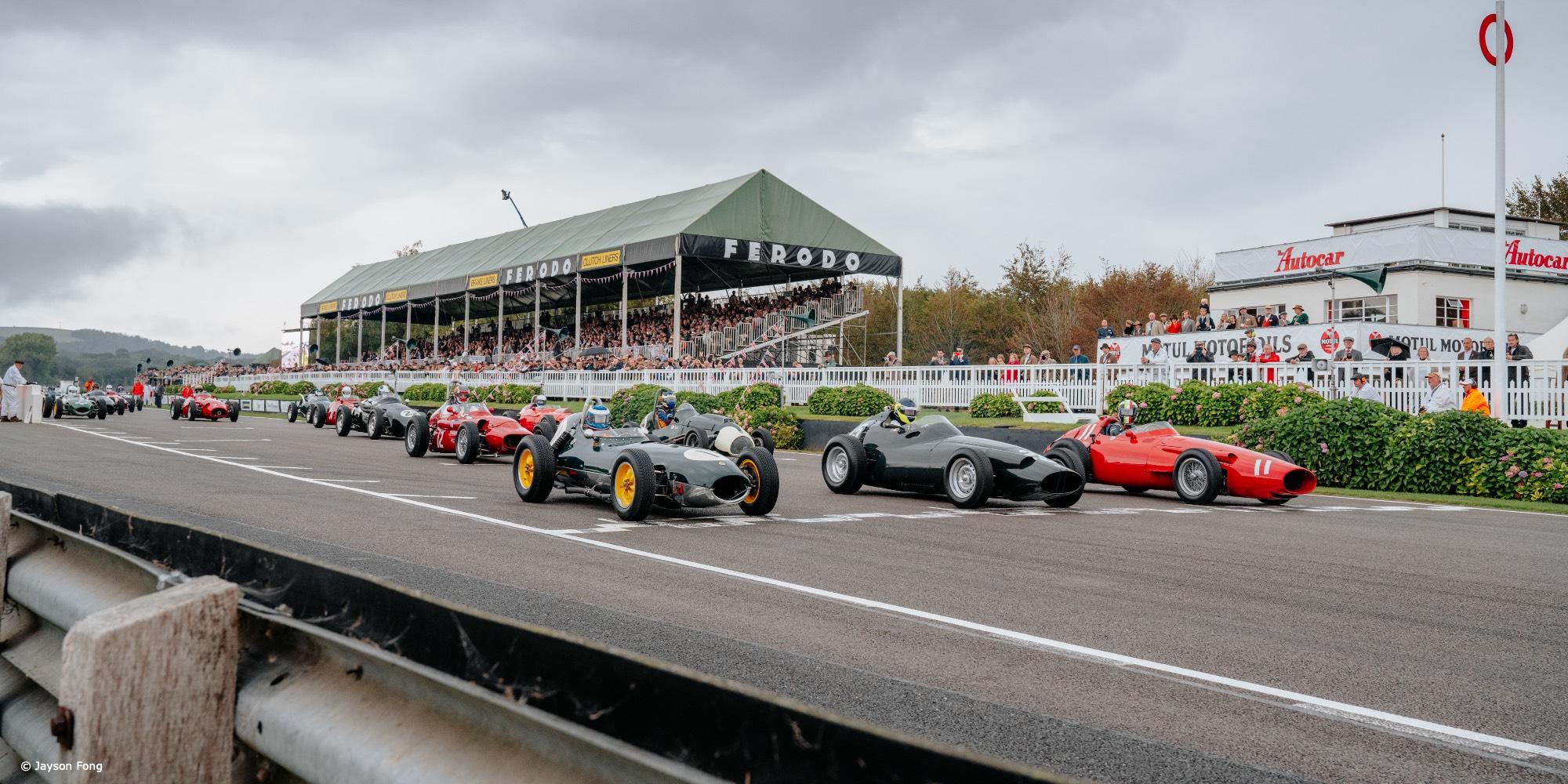 The 2021 Goodwood Revival Richmond Trophy Winning BRM P25 Formula 1