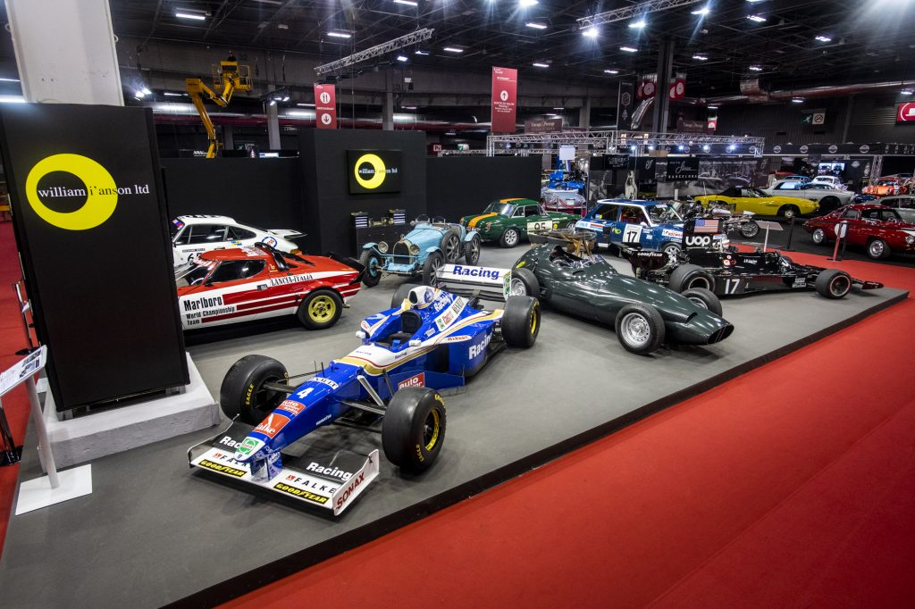 William I'Anson Ltd at Retromobile 2020