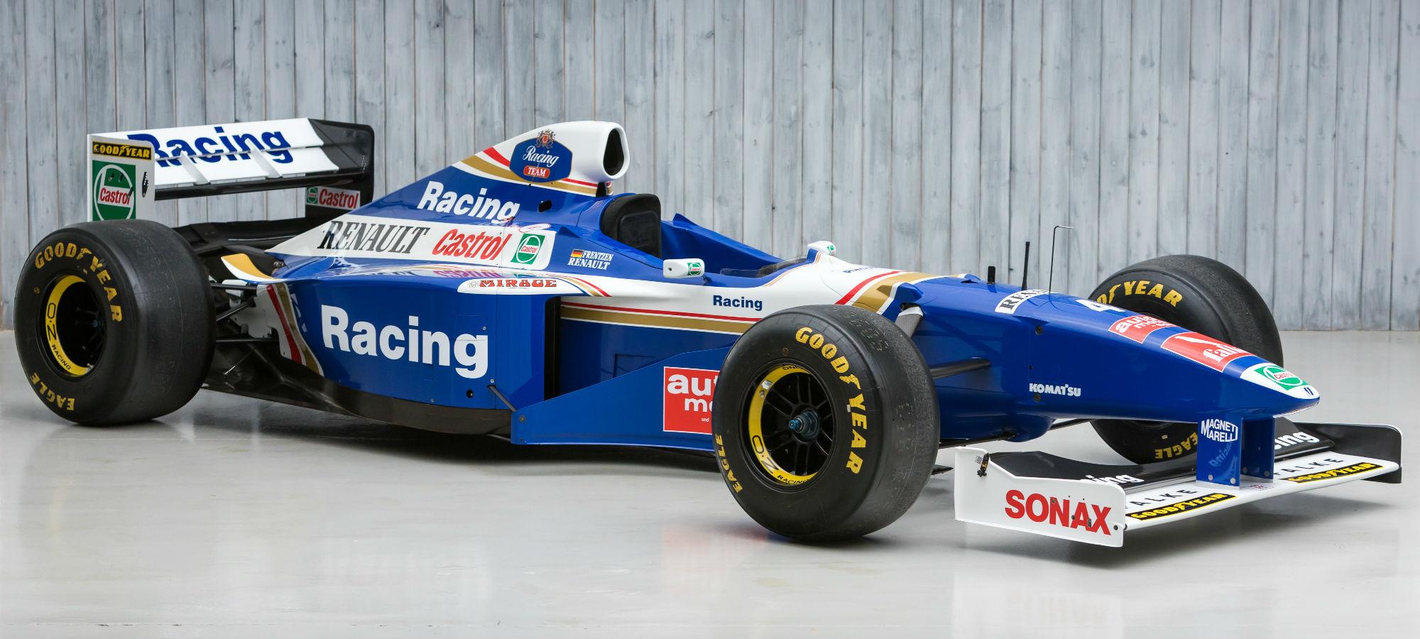 The Ex - Heinz-Harald Frentzen, San Marino Grand Prix Winning 1997 Williams FW19 Formula 1