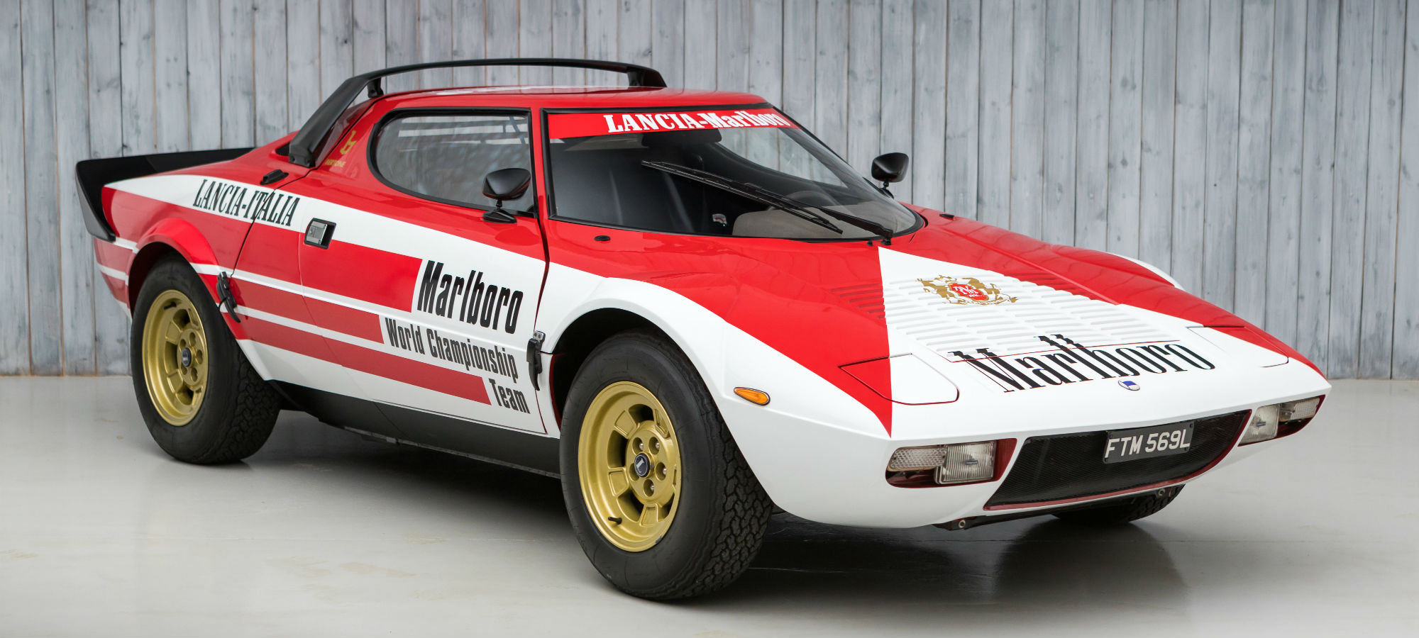 The Ex - Philip Morris, Marlboro Press Car 1974 Lancia Stratos Stradale