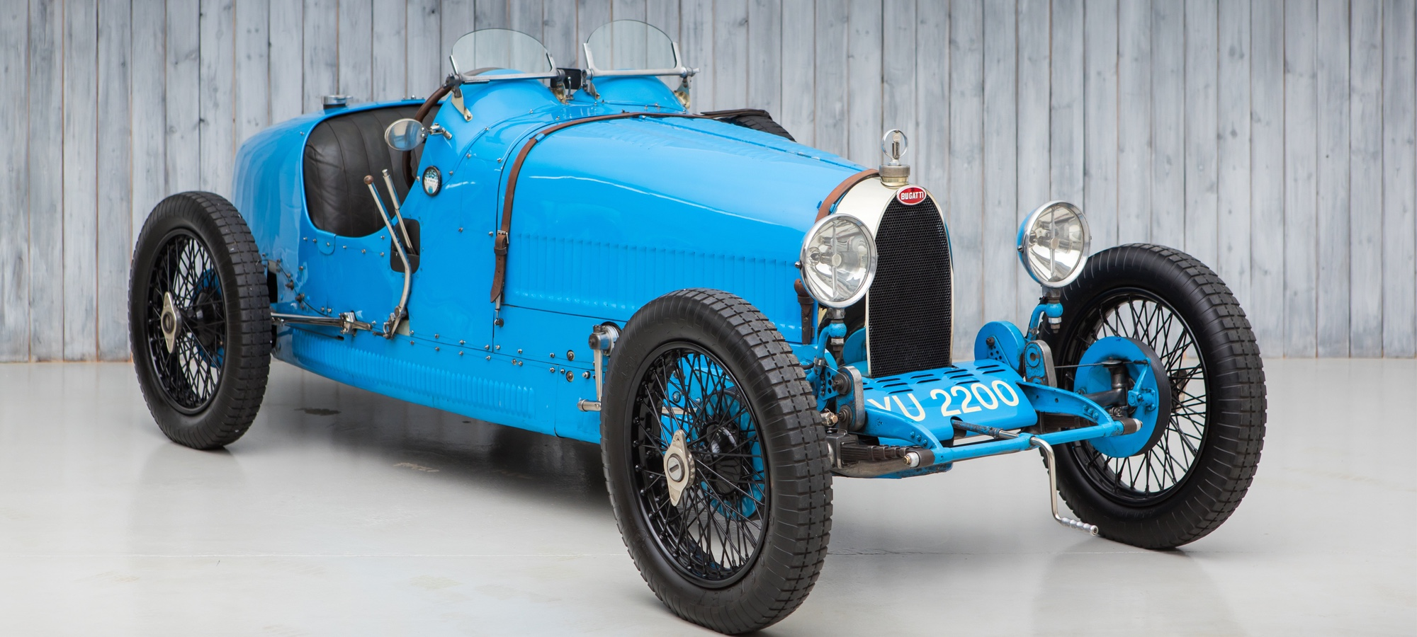 The Ex - Sir Malcolm Campbell, Miss Bond, Brooklands 1927 Bugatti Type 37