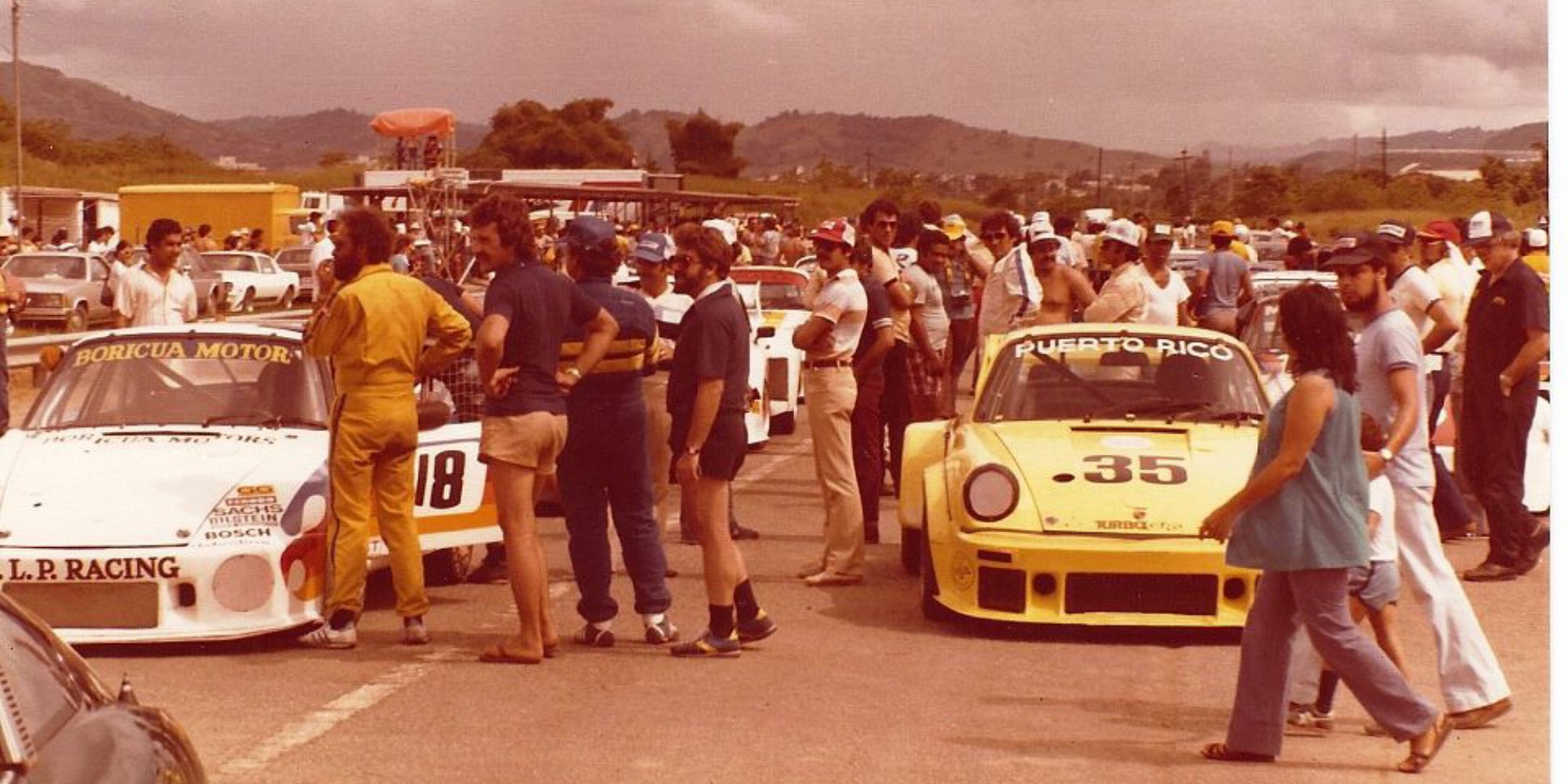 The Ex – Le Mans 24 Hours, Daytona 24 Hours, Multiple Sebring 12 Hours 1976 Porsche 934 Turbo RSR