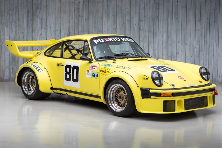 The Ex - Le Mans 24 Hours, Daytona 24 Hours, Sebring 12 Hours 1976 Porsche 934 Turbo RSR For Sale at William I'Anson Ltd