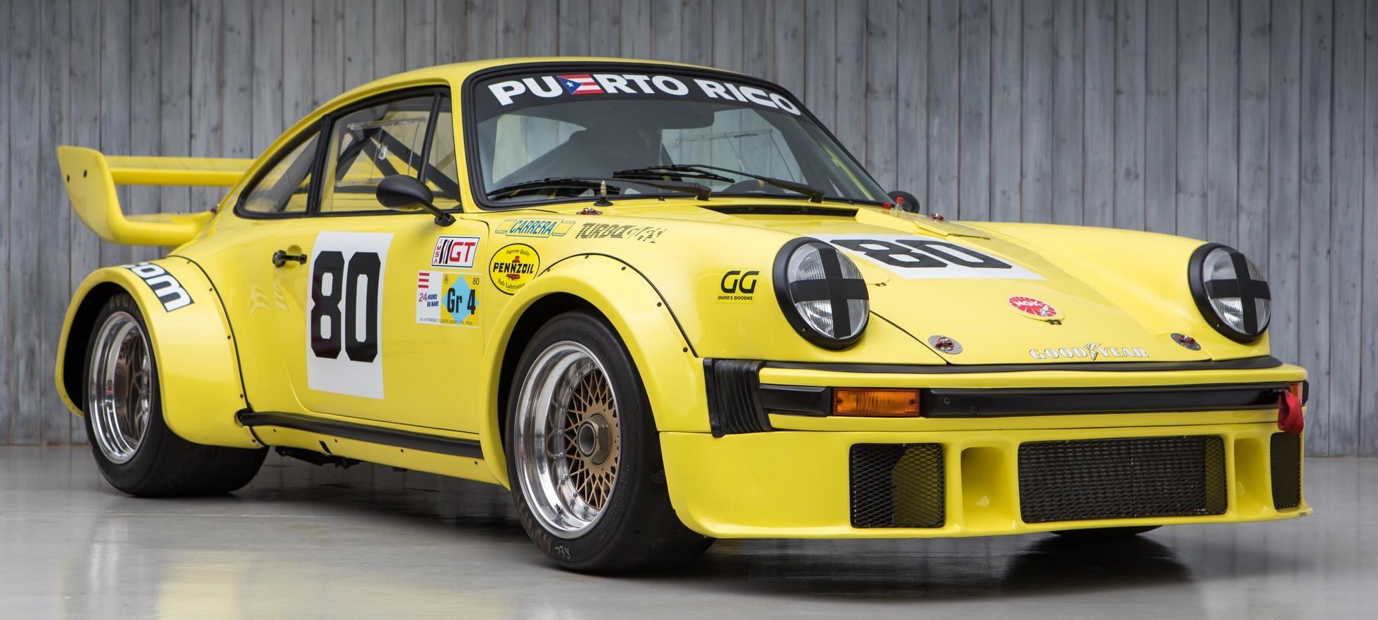 The Ex - Le Mans 24 Hours, Daytona 24 Hours, Multiple Sebring 12 Hours 1976 Porsche 934 Turbo RSR