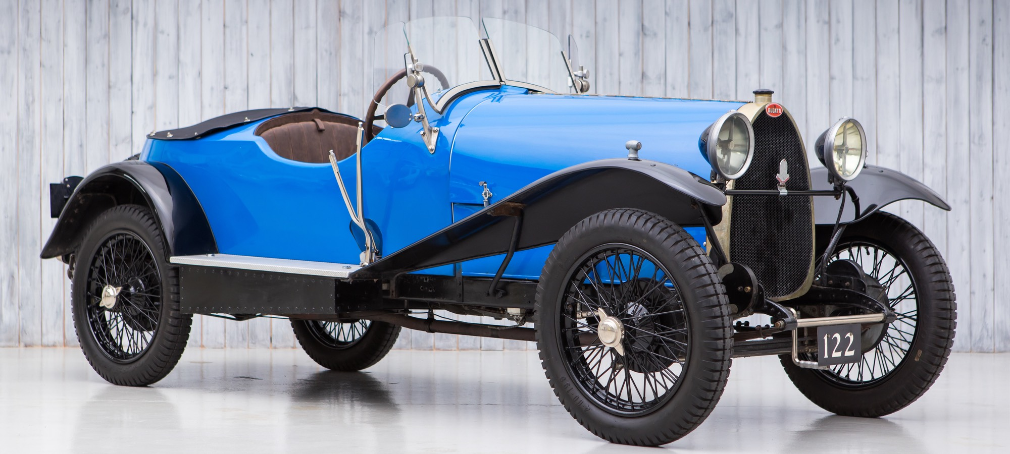 The Ex - Hugh Conway, Söderström Collection 1925 Bugatti Type 23 Brescia