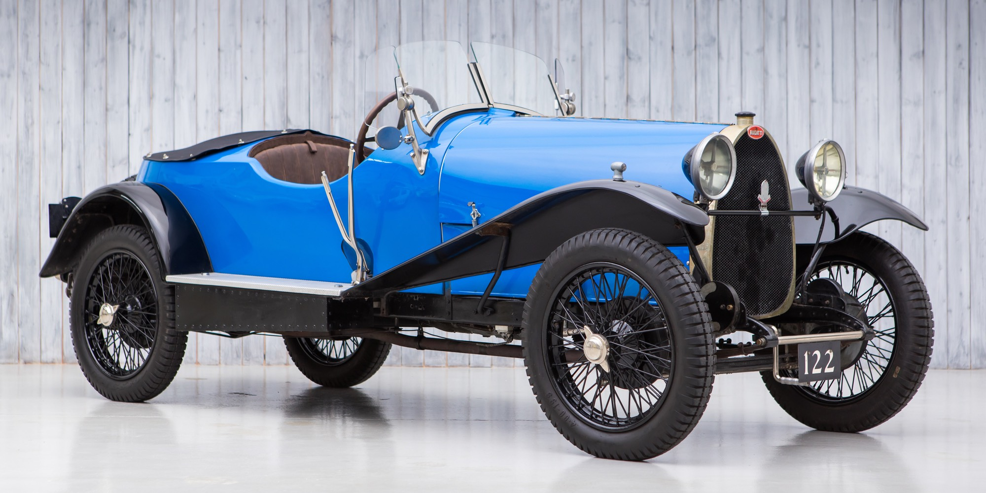 The Ex – Hugh Conway, Söderström Collection 1925 Bugatti Type 23 Brescia