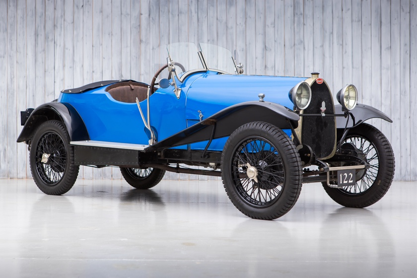 The Ex - Hugh Conway, Soderstrom Collection 1925 Bugatti Type 23 Brescia For Sale at William I'Anson Ltd