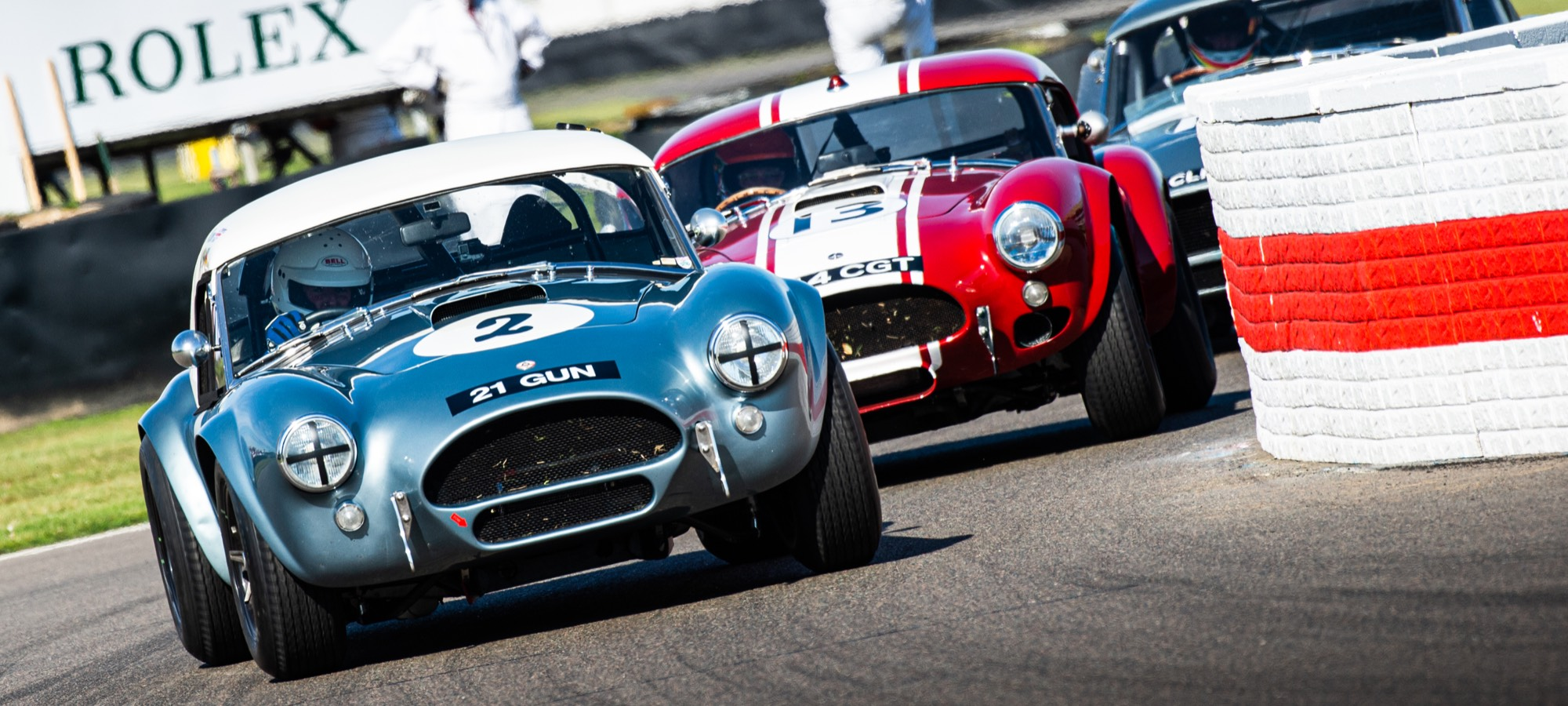 The 2019 RAC TT Winning, Goodwood Cobra Lap Record Holding 1965 AC Cobra Mk1 289