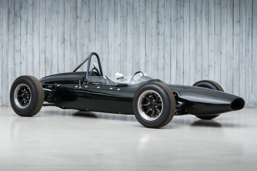 The Ex - Suzy & Chuck Dietrich 1962 Cooper T59 Formula Junior For Sale at William I'Anson Ltd