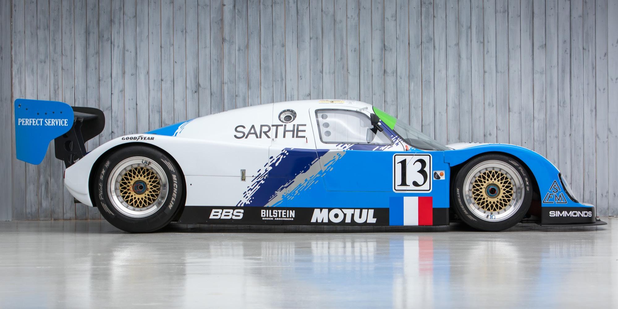 The Ex – Mario & Michael Andretti, Jan Lammers, Derek Warwick, Multiple Le Mans 24 Hours 1993 Courage – Porsche C30 LM Group C