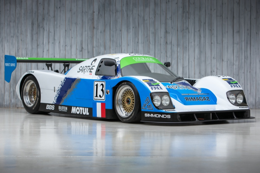 The Ex-Mario & Michael Andretti, Jan Lammers, Derek Warwick, Multiple Le Mans 24 Hour 1993 Courage Porsche C30 LM Group C For Sale at William I'Anson Ltd