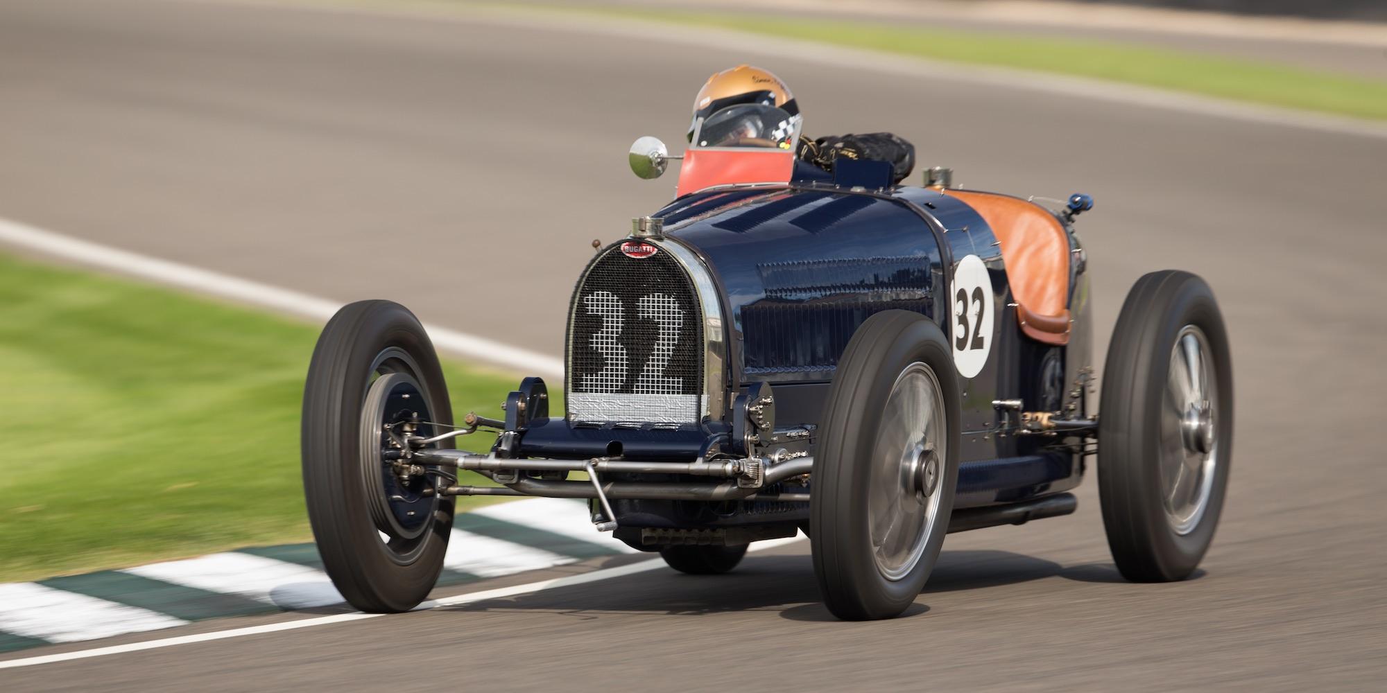 The Ex – Count Czaykowski, René Dreyfus, Aubrey Esson-Scott, Monaco Grand Prix, Brooklands 1931 Bugatti Type 51
