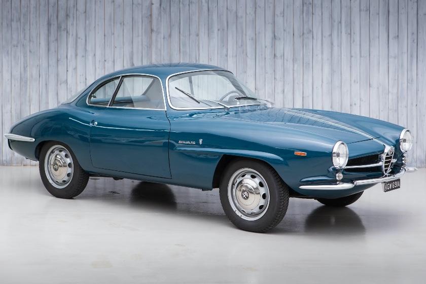1963 Alfa Romeo Giulia Sprint Speciale For Sale at William I'Anson Ltd