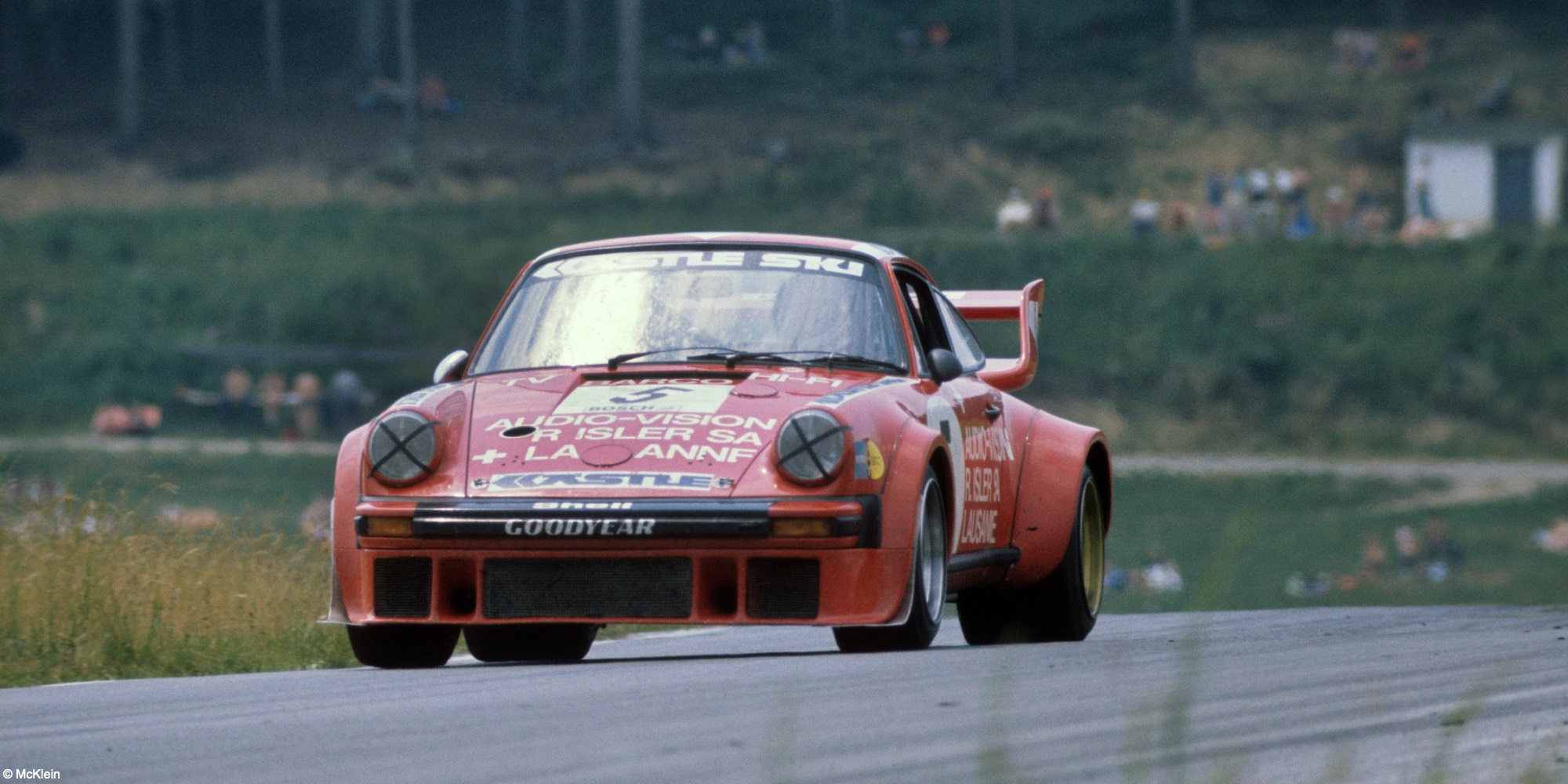 The 2x Le Mans 24 Hours, 3x Daytona 24 Hours, 3x Sebring 12 Hours, Driven by Don Whittington to clinch the 1979 Drivers' World Endurance Championship Title 1976 Porsche 934 Turbo RSR to 935 M16/K3